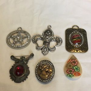 6-Pc Brooch Bundle